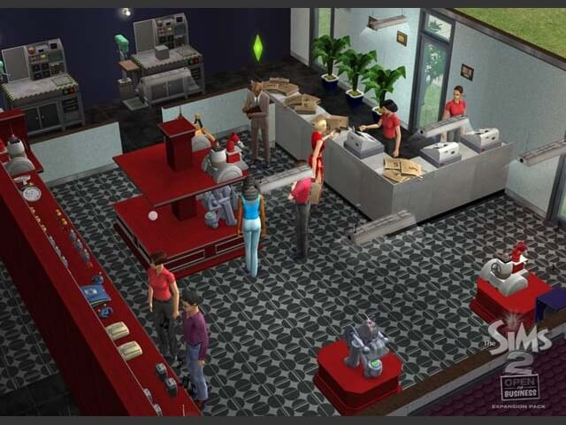 Sims 2 open for business