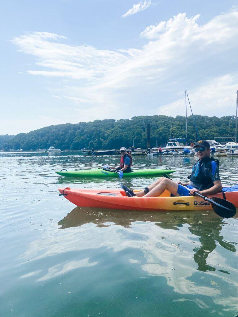 Kayaking Malpas