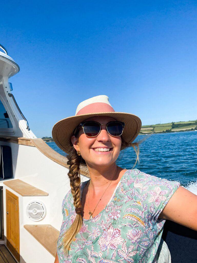 Truro river by boat