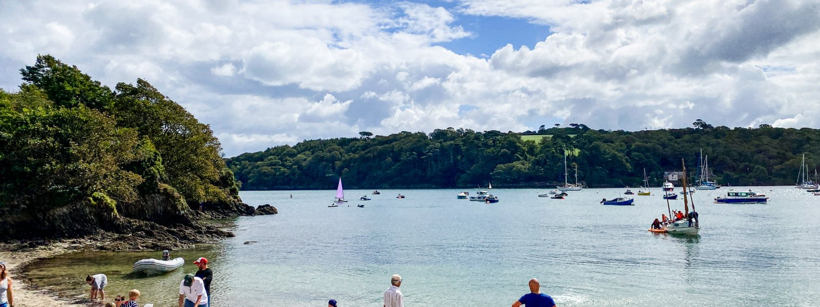Mawnan Smith to The Ferry Boat Inn at Helford Passage