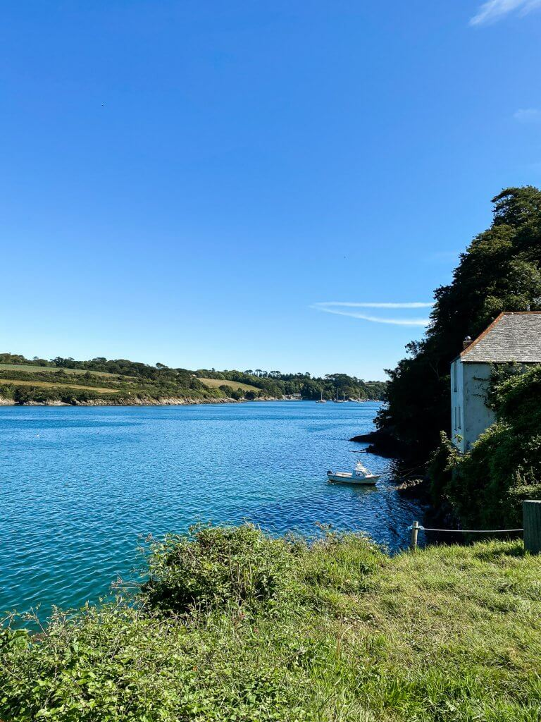 Helford river (from The Lizard)