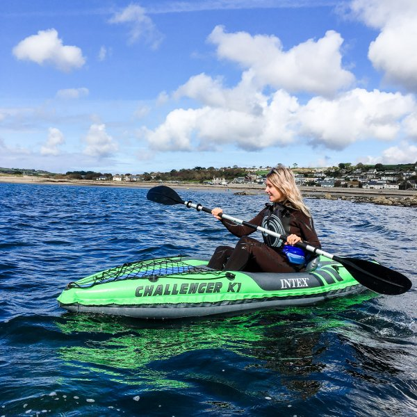Kayaking at Marazion