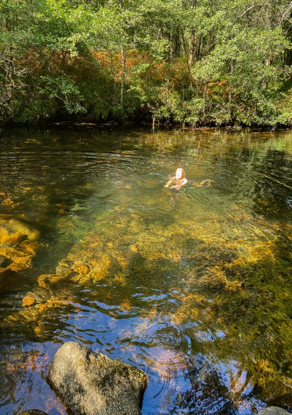 Wild Swimming in Dartmoor (Bel Pool / Ladder Pool)