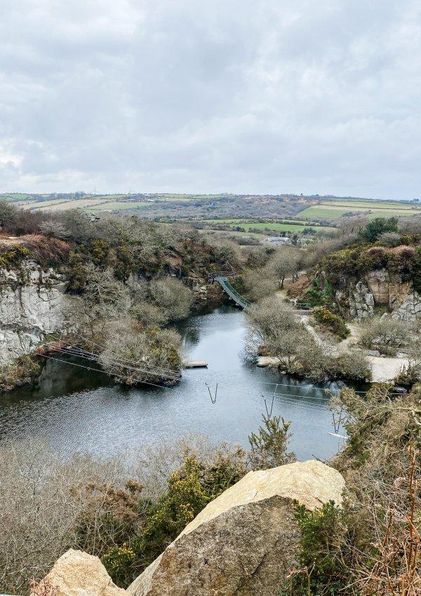Quarry Exploring nr. Penryn (with The Cornish Barista)