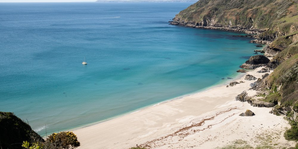 Lantic Bay in Cornwall