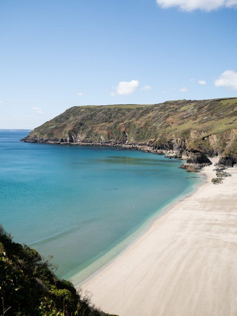 Lantic Bay, Cornwall