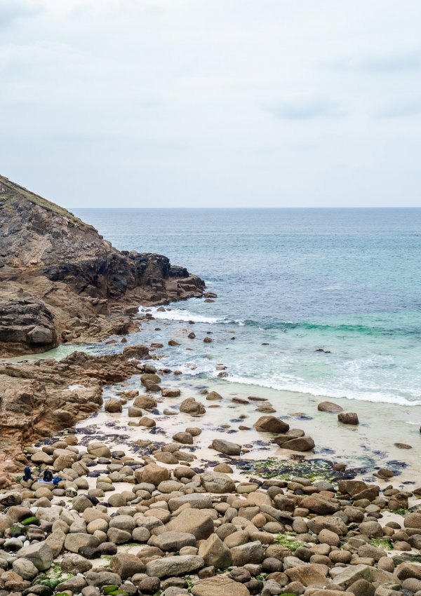 Nanjizal Beach and the Song of the Sea (+ lunch at Porthgwarra)