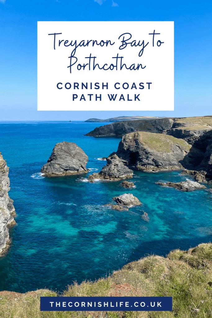Treyarnon to Porthcothan (Cornish coastal walk)