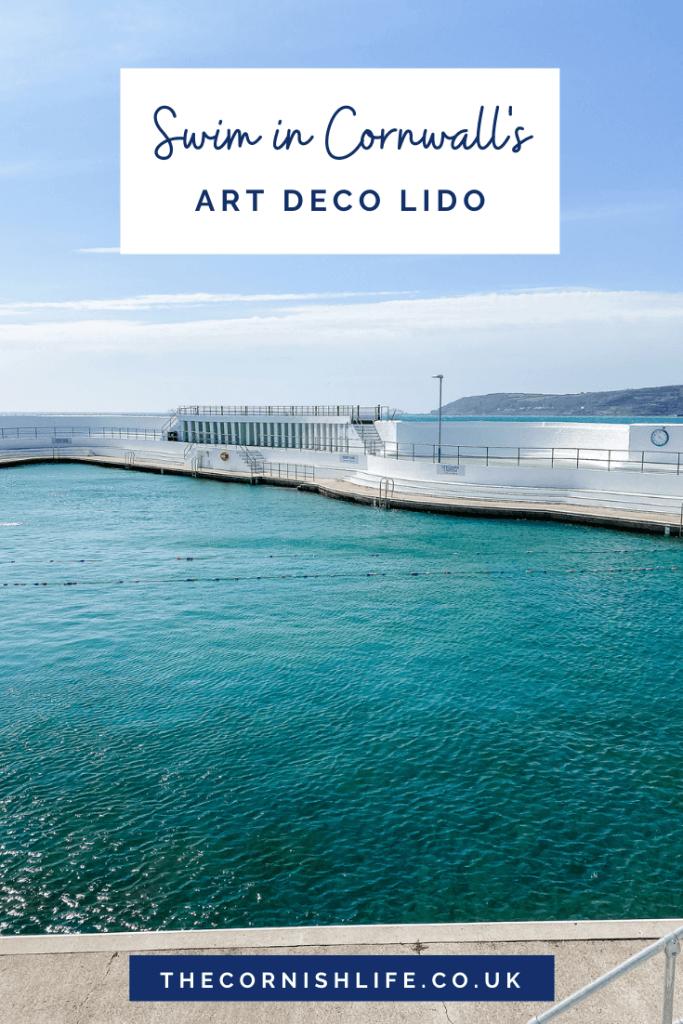 Swim in Cornwall's outdoor pool (art deco Lido in Penzance)
