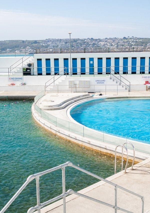 A Dip in Jubilee Pool (Penzance's Art Deco Lido)