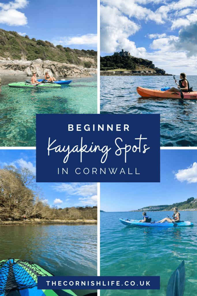 Beginner Kayaking Spots in Cornwall