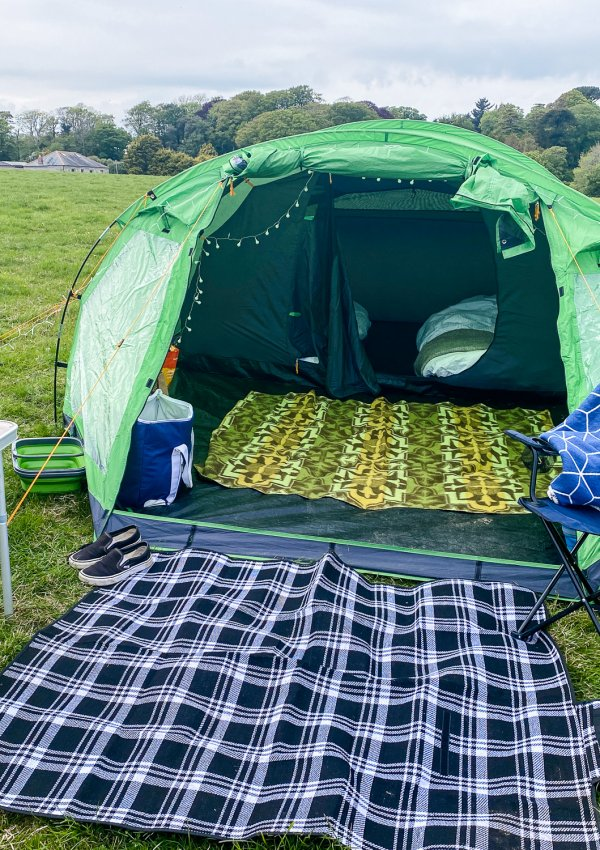 Camping and Swimming in Falmouth