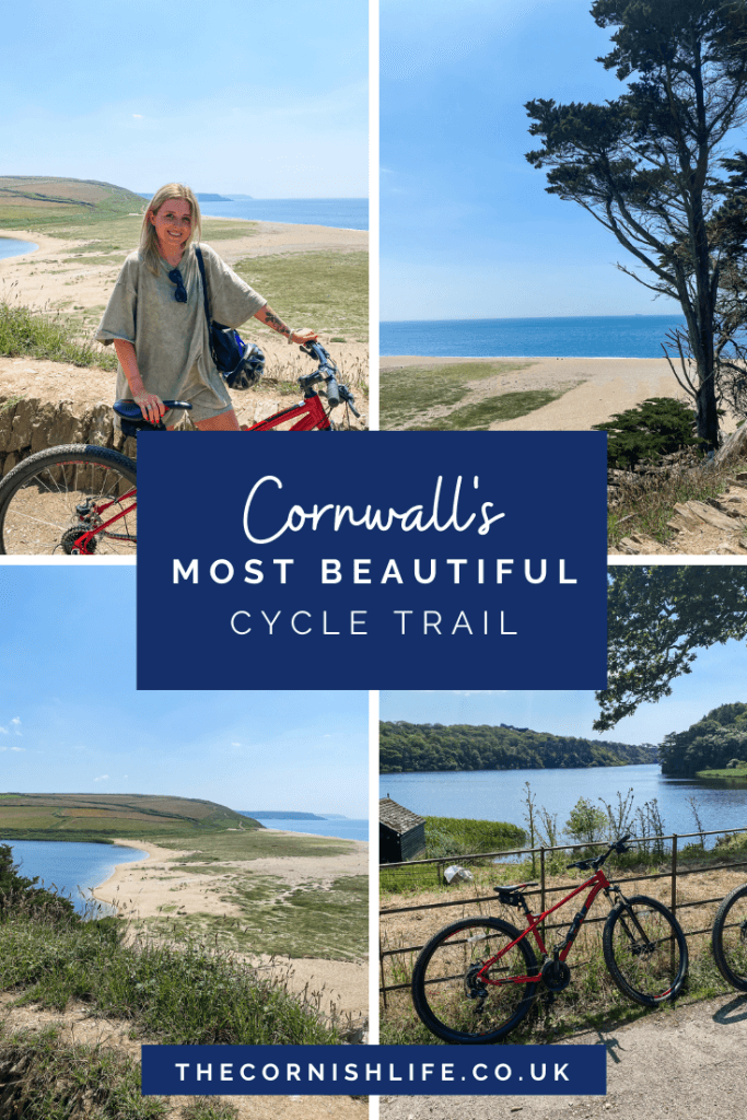 Cornwall's most beautiful cycle trail