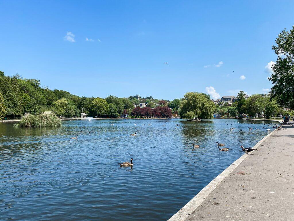 Helston boating lake