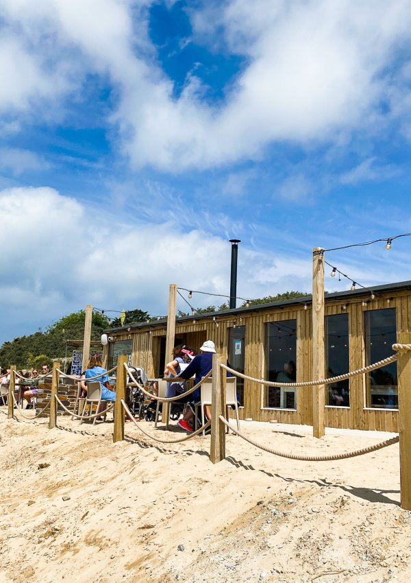 Lunch on the Beach at Lula, Hayle