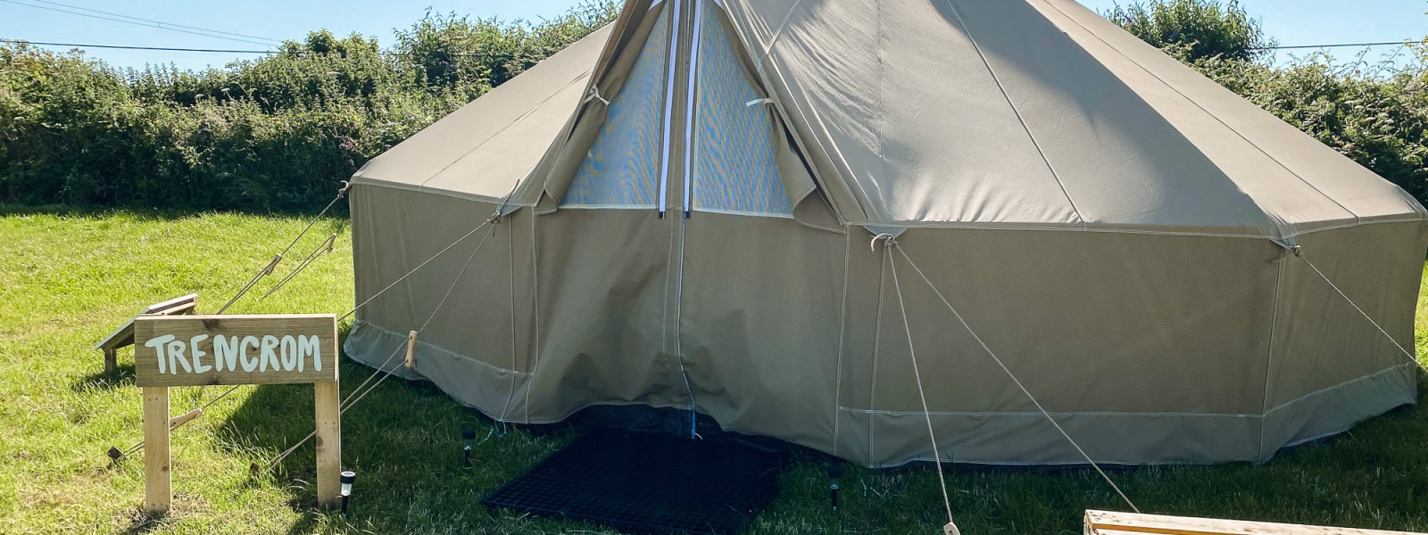 'Wild Camping' & Bell Tents in St. Ives