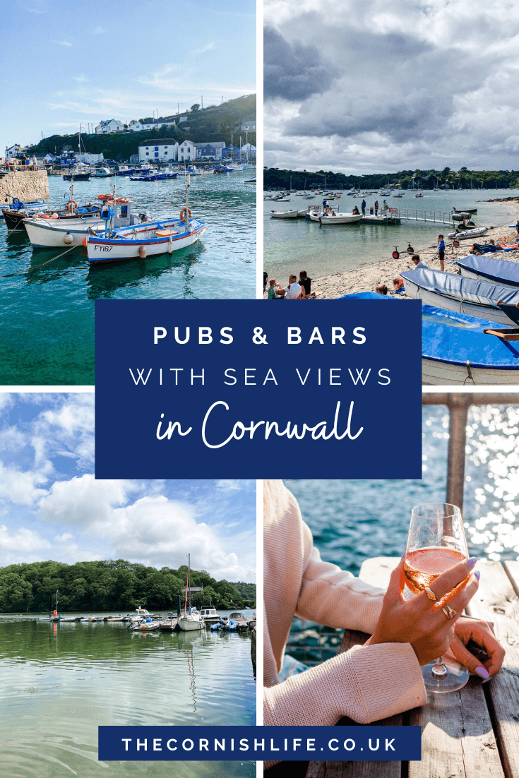 Pubs & Bars in Cornwall with a Sea View